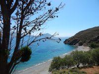 Amorgos Greece Psiliamos Beach